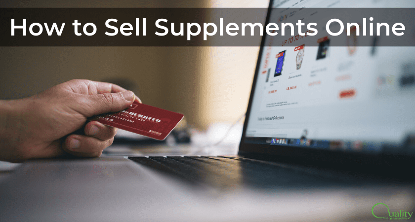 How to Sell Supplements Online