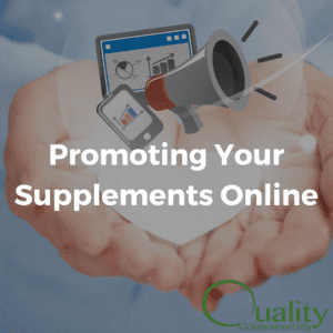 promoting supplements online