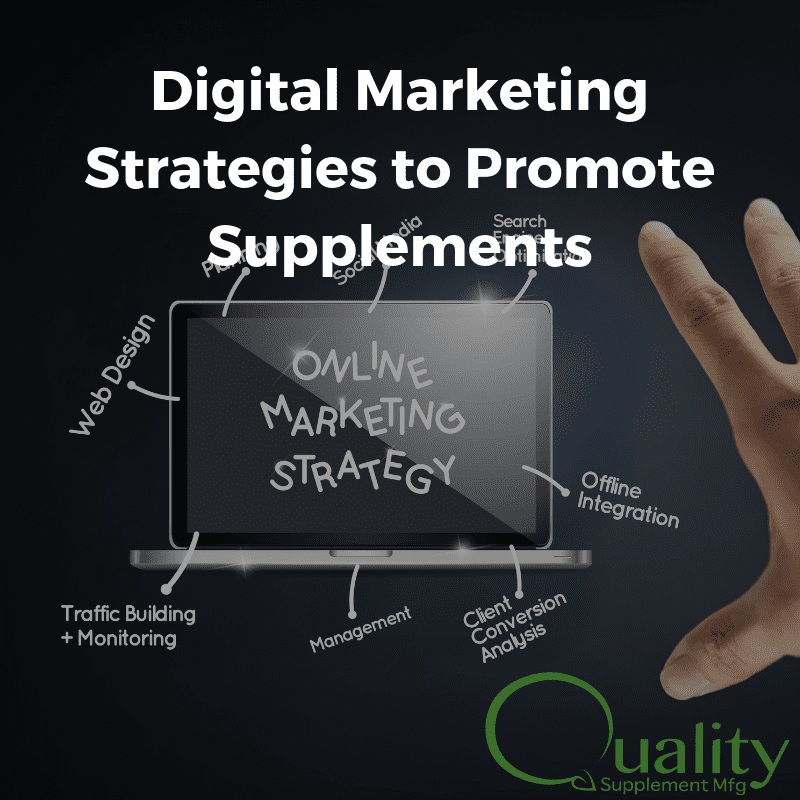 Digital Marketing Strategies to Promote Supplements
