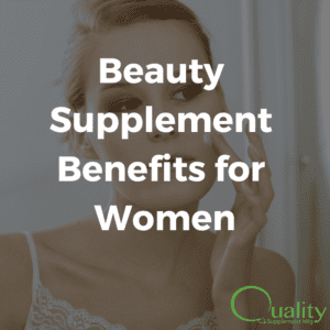 benefits of selling beauty supplements for women