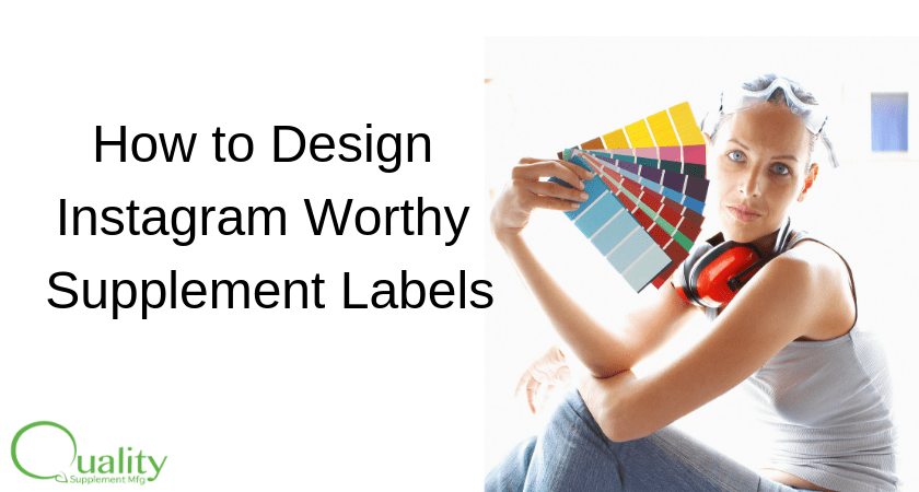 How to Design Instagram Worthy Supplement Labels