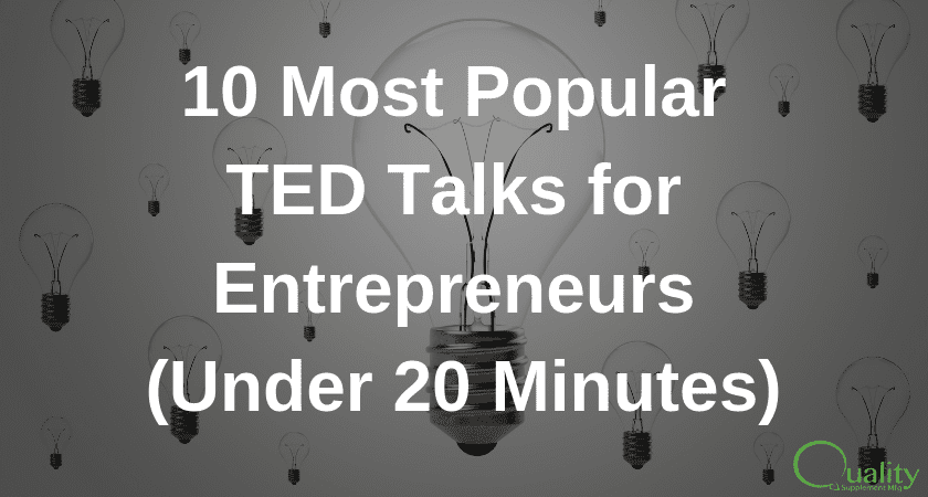 10 Most Popular TED Talks for Entrepreneurs (Under 20 Minutes)