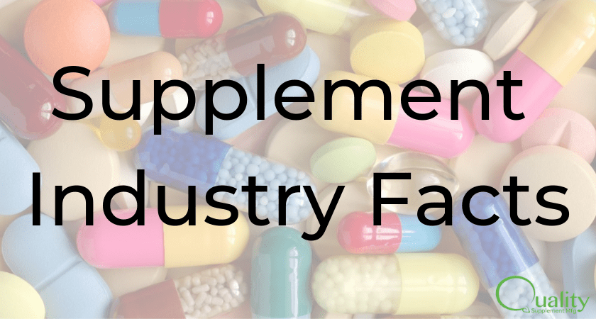 6 must know supplement industry facts