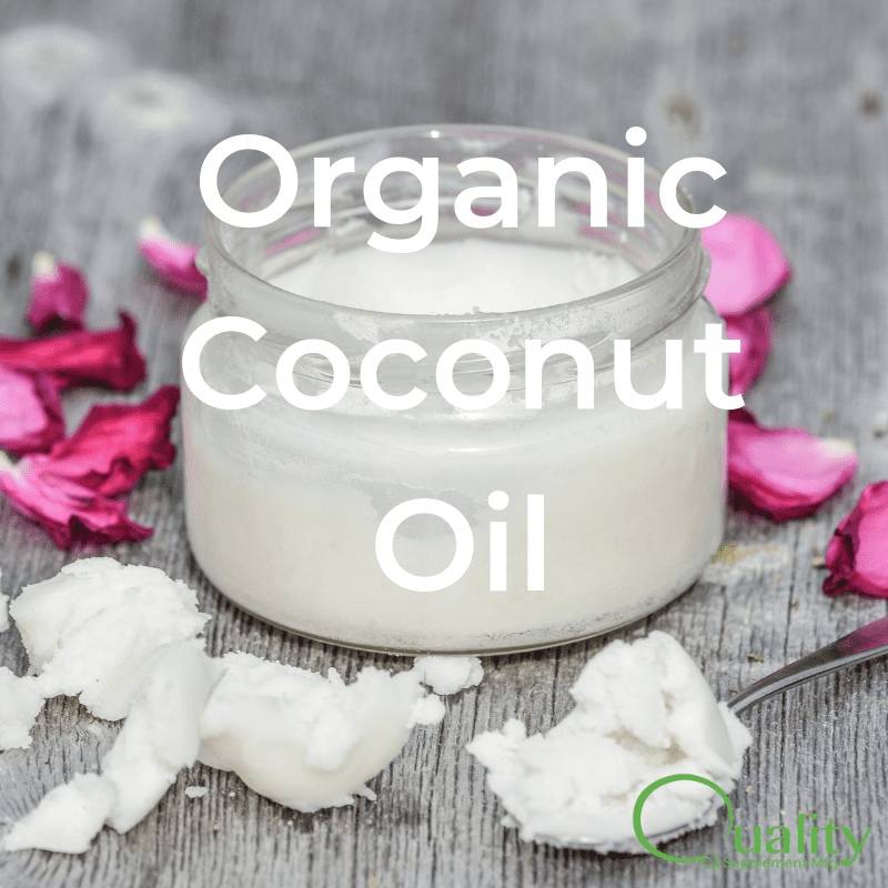 organic coconut oil supplements