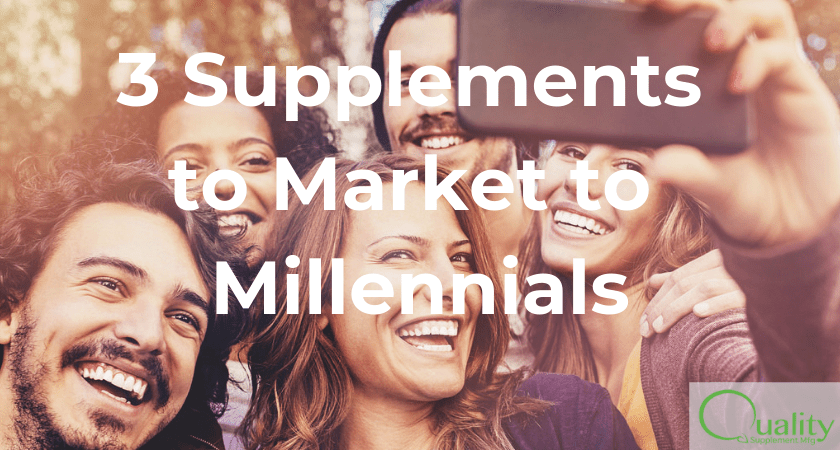 3 Supplements to Market to Millennials
