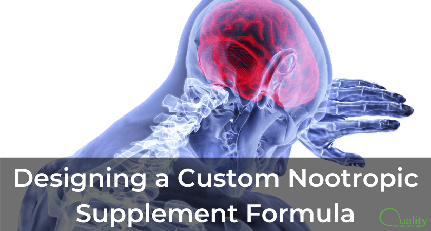 Designing a custom nootropic supplement formula