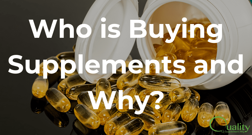 Who is buying supplements and why?
