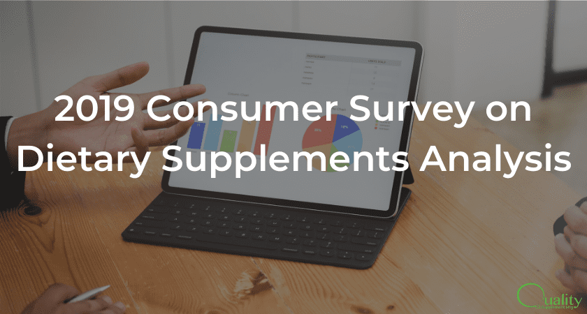 2019 Consumer Survey on Dietary Supplements Analysis
