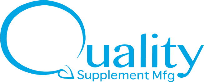 quality supplement manufacturing logo